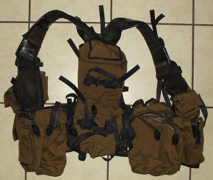 South Africa SADF Army Pattern 83 Nutria Battle Jacket Ammunition Vest