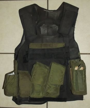 South Africa SADF Special Forces Niemoller Style Webbing Ammunition Vest