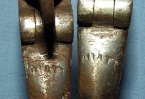 Vintage South African Police British Made Hiatt Handcuffs 3