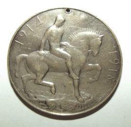 WW1 British War Medal to M-1875 Pte. M. Kolongo Rhodesia North Regiment