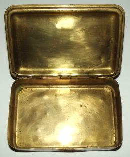 WW1 Christmas 1914 Princess Mary Brass Chocolate Tin 3
