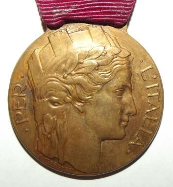 WW1 Italian Volunteers Medal