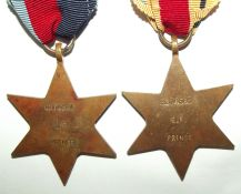 WW2 Group of 5 Full Size Medals to a South African Coloured Soldier 2