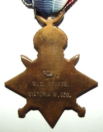WW1 South African 1914-15 Star Medal 2