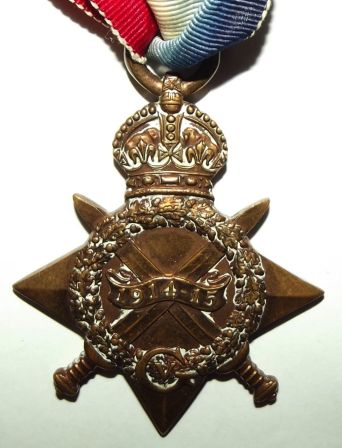 WW1 South African 1914-15 Star Medal